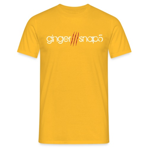 GS5 logo name - Men's T-Shirt