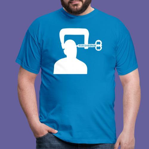 Mal de tête en grappe dans un étau - T-shirt Homme