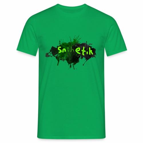 Snthetik-Banner Groß - Männer T-Shirt