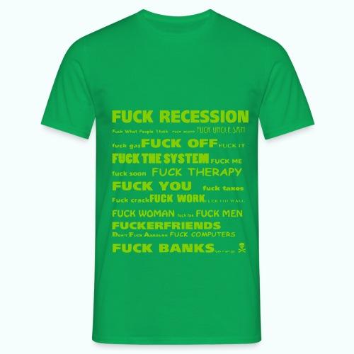 f'ck 1702410_133337147_IM - Männer T-Shirt