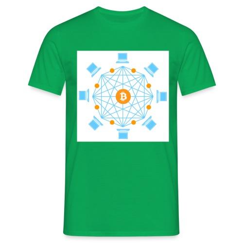 Blockchain - Miesten t-paita