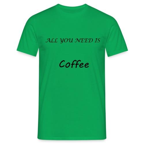 t-shirt café - T-shirt Homme