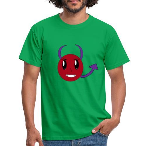 Sweet Devil Face - Männer T-Shirt