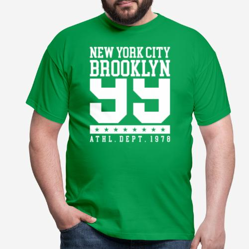 New York City Brooklyn - Männer T-Shirt