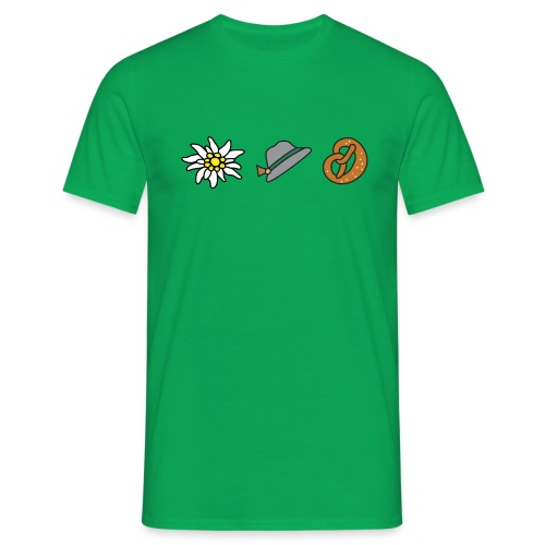 Edelweiß Trio - Männer T-Shirt