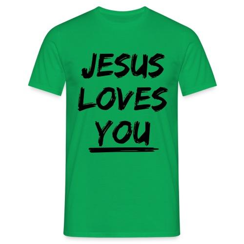 jesus-loves-you - Männer T-Shirt
