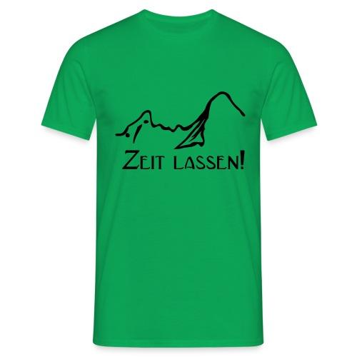 Watze-Zeitlassen - Männer T-Shirt
