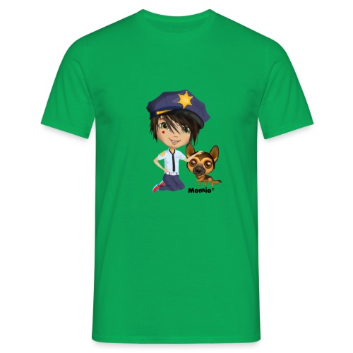 Jack und Hund - von Momio Designer Cat9999 - Männer T-Shirt
