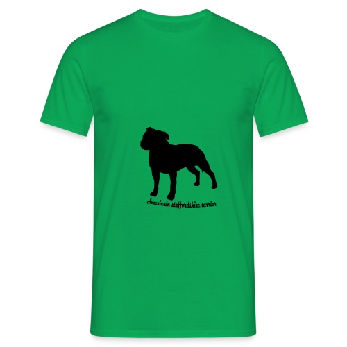 american staffordshire terrier - T-shirt Homme