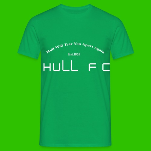Hull FC Joy [White] - Men's T-Shirt