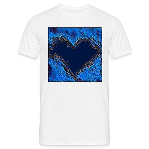 Black hart - Maglietta da uomo