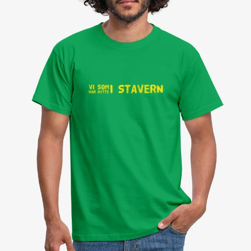 Stavern - T-skjorte for menn