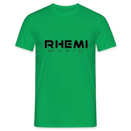 Classic Rhemi Logo Black - Men's T-Shirt