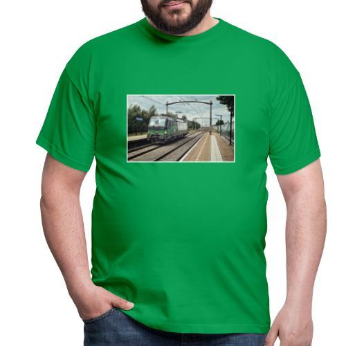 Goederentrein in Breda Prinsenbeek - Mannen T-shirt