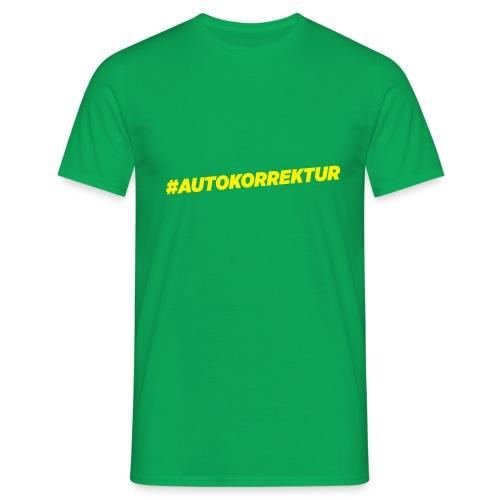AUTOKORREKTUR - Men's T-Shirt