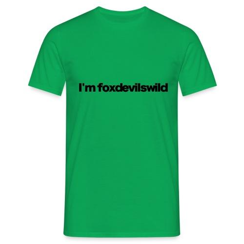 im foxdevilswild black 2020 - Männer T-Shirt