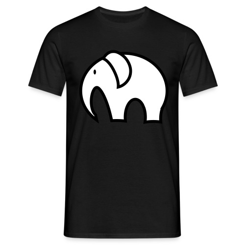 olifant pictogram - Mannen T-shirt