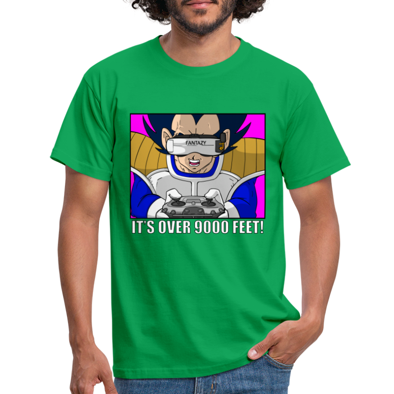 It's over 9000 feet ! - T-shirt Homme