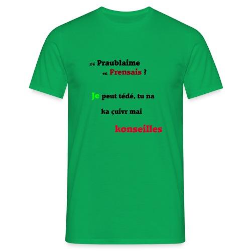 Probleme en français - T-shirt Homme