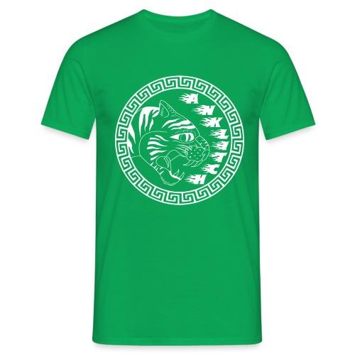 Anklitch Logo wit - Mannen T-shirt
