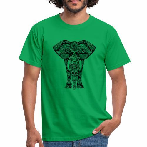 Ażurowy słoń - Koszulka męska