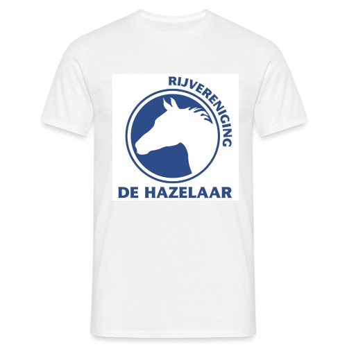 LgHazelaarPantoneReflexBl - Mannen T-shirt