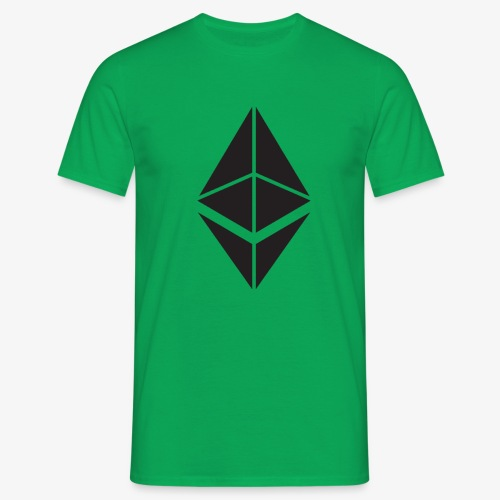 Ethereum Crypto Currency - Men's T-Shirt