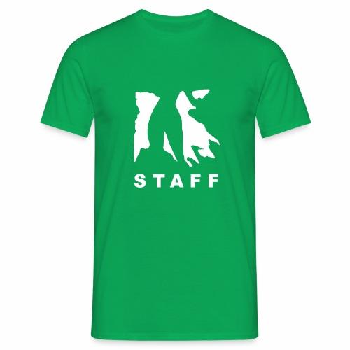 Pump it Up Staff - Männer T-Shirt