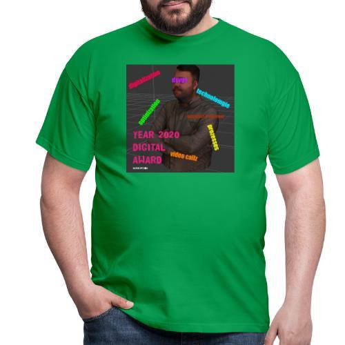 Year 2020 Digital Award - Männer T-Shirt