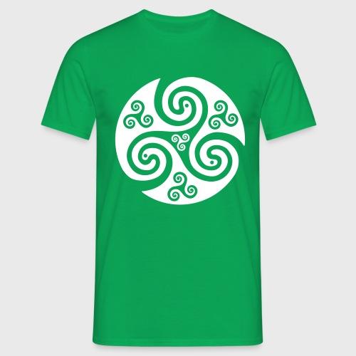 Triskel celtique - T-shirt Homme