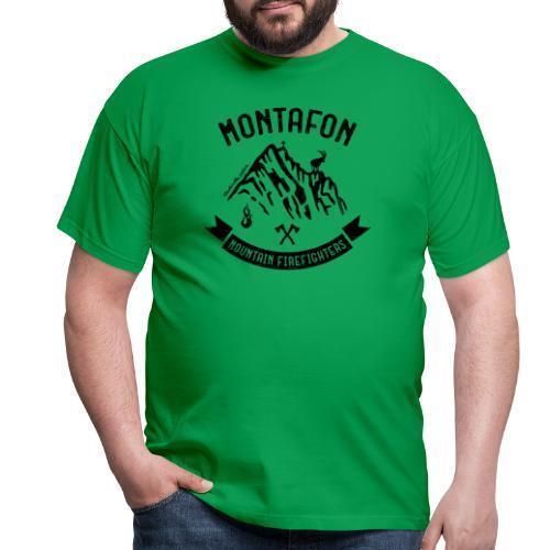 Montafon-Edition in Schwarz - Männer T-Shirt