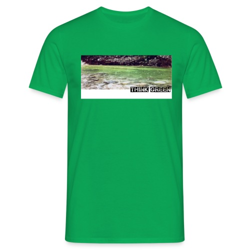 Think green - Männer T-Shirt