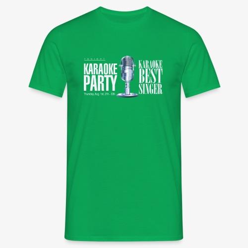 Karaoke party - Camiseta hombre