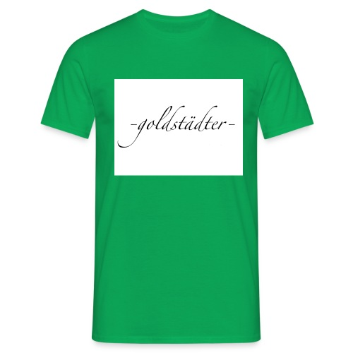 -goldstädter- - Männer T-Shirt
