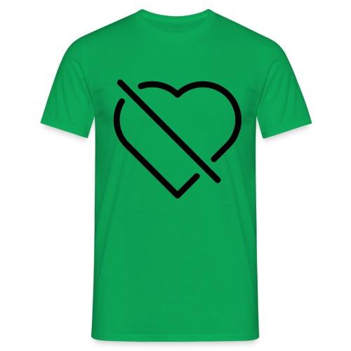 no love - Männer T-Shirt