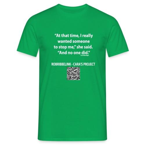 Caras Project fan shirt - Men's T-Shirt