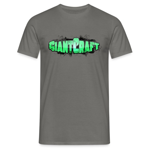 Vandflaske - GiantCraft - Herre-T-shirt