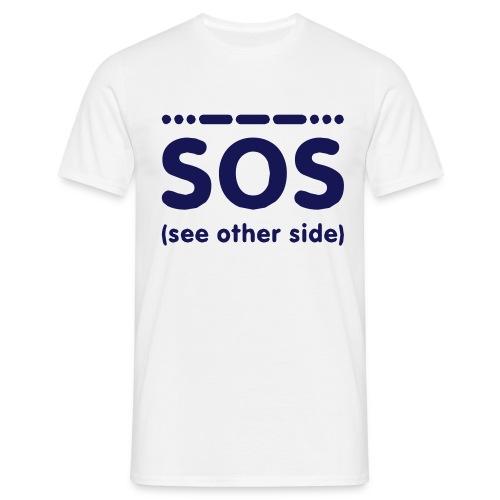 SOS - Mannen T-shirt