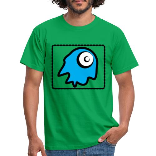 blue monsty - Camiseta hombre