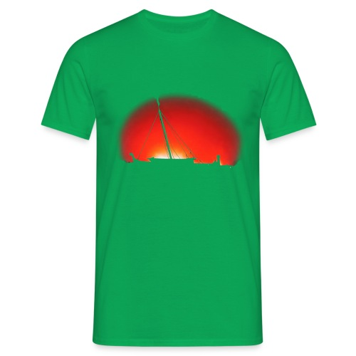 Bear Sunset - Men's T-Shirt