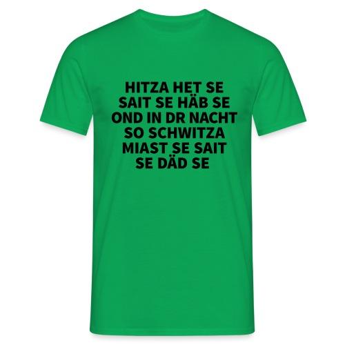 Hitza - Männer T-Shirt