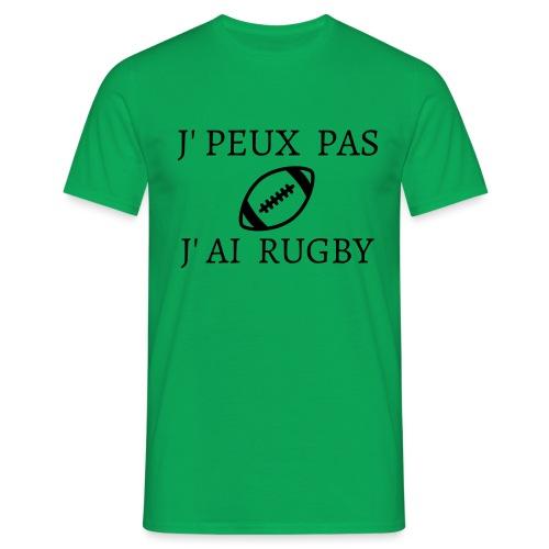J'peux pas J'ai rugby - T-shirt Homme