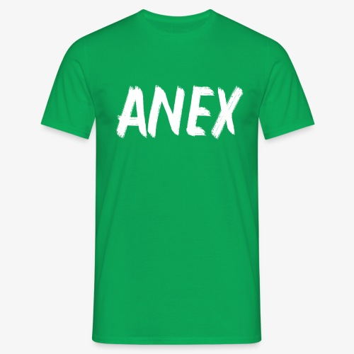 T-Shirt Anex white logo - Men's T-Shirt