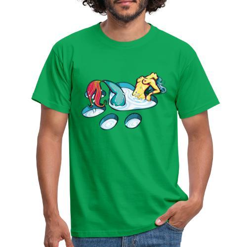 Sirène féline coquine - T-shirt Homme