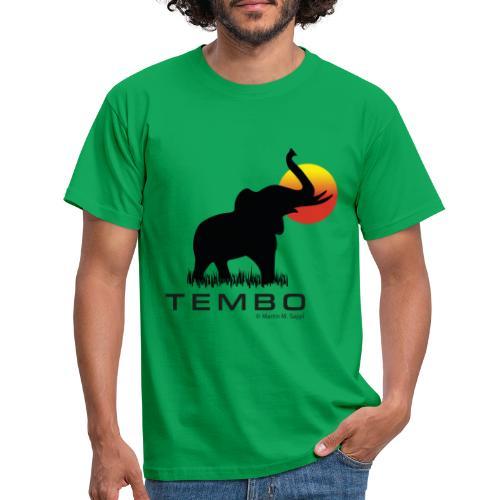 elephant - Tembo - Männer T-Shirt