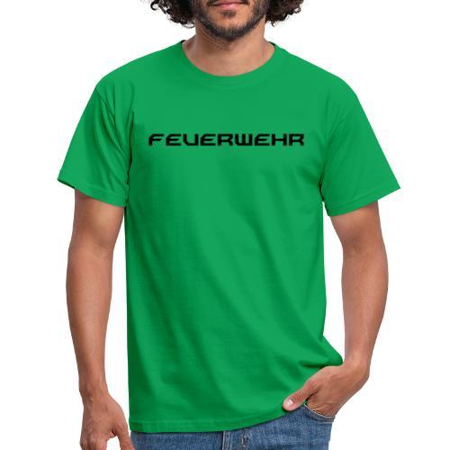 FEUERWEHR Nechao Sharp Farbe Schwarz - Männer T-Shirt