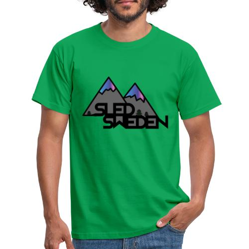 SledSweden Official Logo Special Edition - T-shirt herr