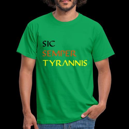 sicsemper - Männer T-Shirt