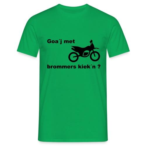 Brommers kijken - Mannen T-shirt