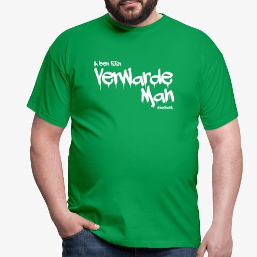 verwarde man - Mannen T-shirt